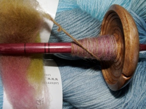 Ledbetter Spindle with Spunky Fiber
