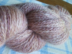 Romney Cotswold - 316 yards Close up