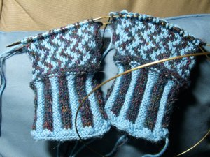 Caryn's Gloves from the Back