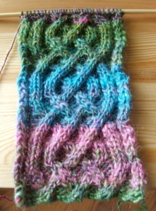Saxon Braided Scarf