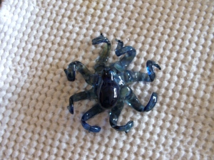 Glass Art Octopus