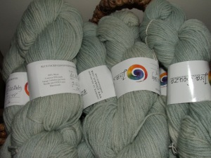 BFL Worsted Ice-Ice!