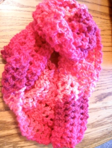 Fusion Scarf in Patons Comfort