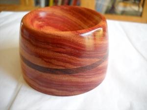 Tulipwood Spindle Bowl