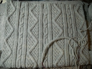 Granite Cardigan Back