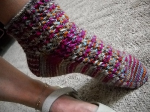 Impressionist Sock